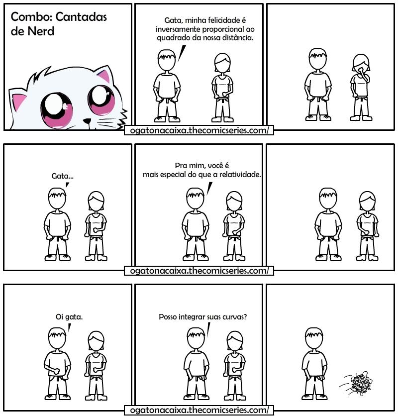 O Gato na Caixa - Combo: Cantadas Nerd
