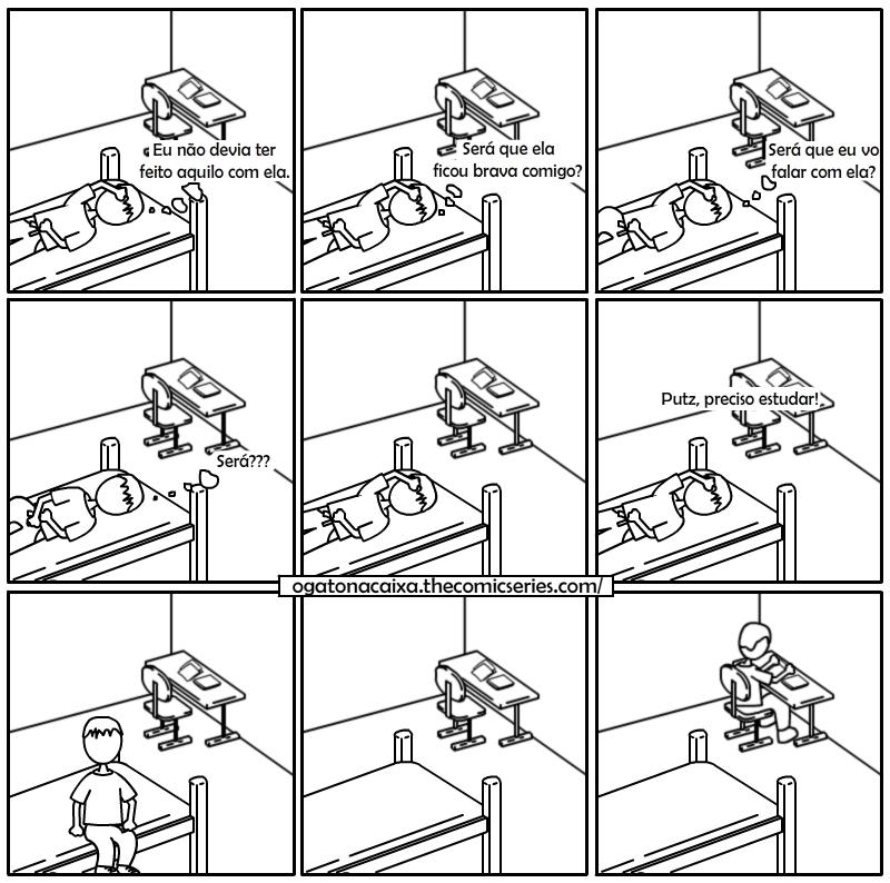 O Gato na Caixa - Certas coisas são mais urgentes do que outras